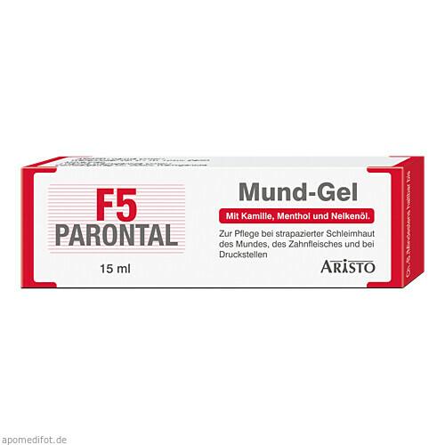 Parontal F5 Mund-Gel, 15 ML, Aristo Pharma GmbH