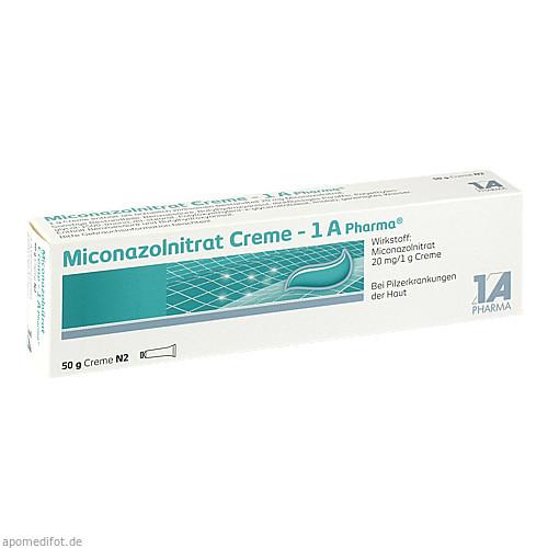 Miconazolnitrat Creme - 1 A Pharma, 50 G, 1 A Pharma GmbH
