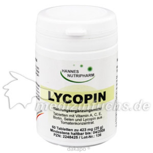 Lycopin Tabletten, 60 ST, G & M Naturwaren Import GmbH & Co. KG