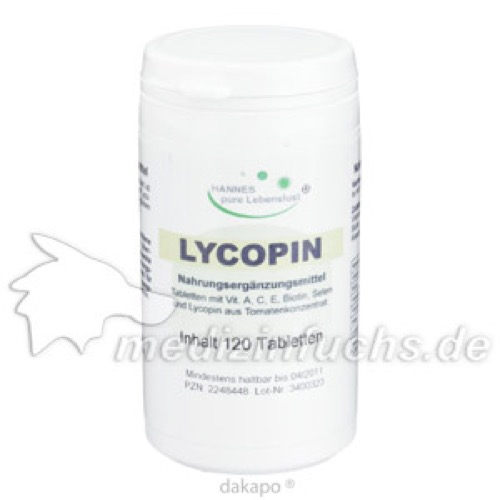 Lycopin Tabletten, 120 ST, G & M Naturwaren Import GmbH & Co. KG
