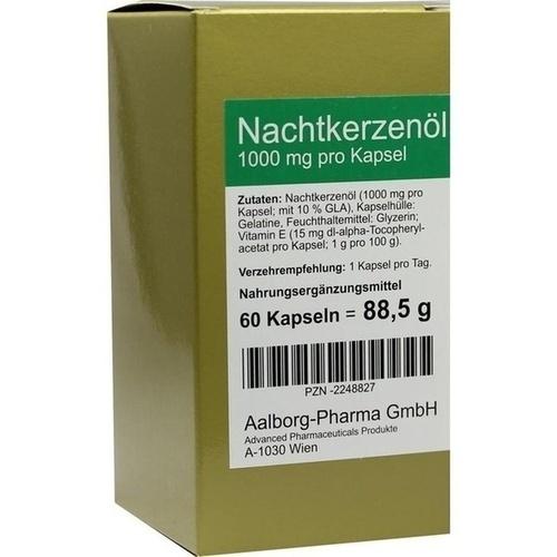 Nachtkerzenöl 1000mg pro Kapsel, 60 ST, Advanced Pharmaceuticals GmbH