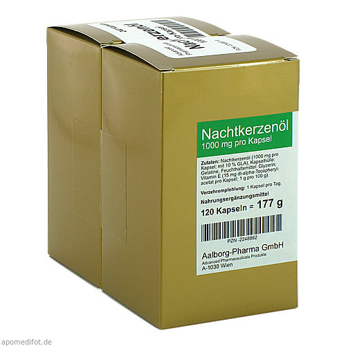 Nachtkerzenöl 1000mg pro Kapsel, 240 ST, Advanced Pharmaceuticals GmbH