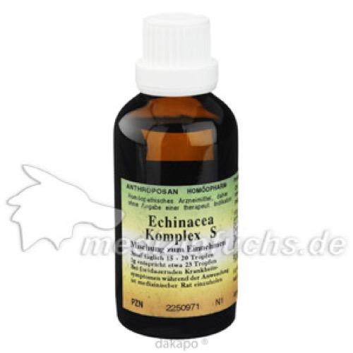 Echinacea Abwehrsteigerung Komplex S, 50 ML, Anthroposan Homöopharm Produktionsgesellschaft mbH