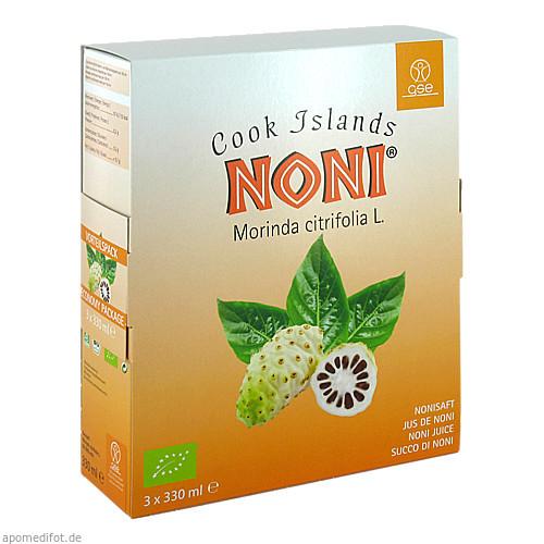 Noni Cook Islands Bio-Saft, 990 ML, Gse Vertrieb Biologische Nahrungsergänzungs- & Heilmittel GmbH