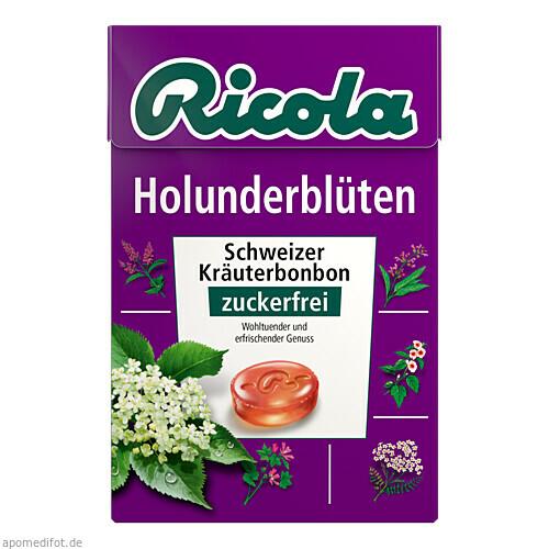 Ricola oZ Box Holunderblüten, 50 G, Queisser Pharma GmbH & Co. KG