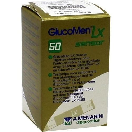 GLUCOMEN LX Sensor Teststreifen, 50 ST, axicorp Pharma GmbH