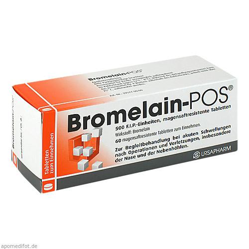 BROMELAIN POS, 60 ST, Ursapharm Arzneimittel GmbH