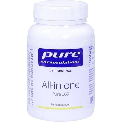 PURE ENCAPSULATIONS ALL-IN-ONE Pure 365, 60 ST, Pro Medico GmbH