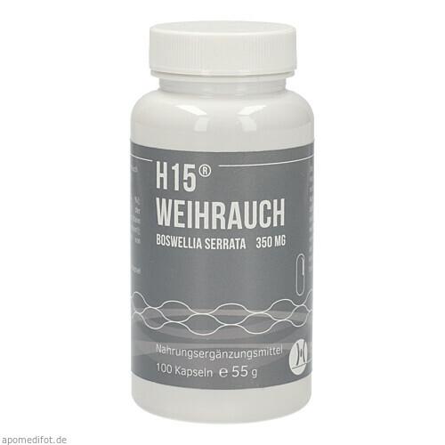 H 15 Weihrauchkapseln 350mg, 100 ST, Hecht-Pharma GmbH
