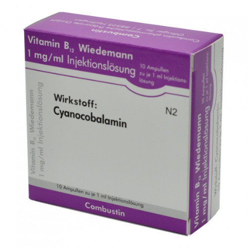 VITAMIN B12 Wiedemann, 10 ST, Wiedemann Pharma GmbH