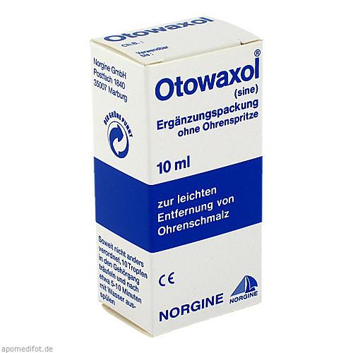 OTOWAXOL SINE, 10 ML, MEDA Pharma GmbH & Co.KG