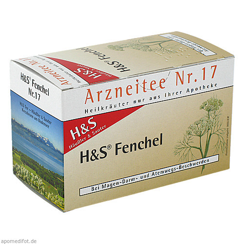 H&S FENCHELTEE UNGEMISCHT, 20X2.2 G, H&S Tee - Gesellschaft mbH & Co.