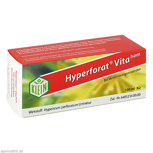 Hyperforat Vitahom, 100 ML, Dr. Gustav Klein GmbH & Co. KG