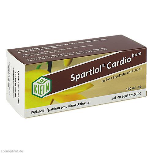 Spartiol Cardiohom, 100 ML, Dr. Gustav Klein GmbH & Co. KG