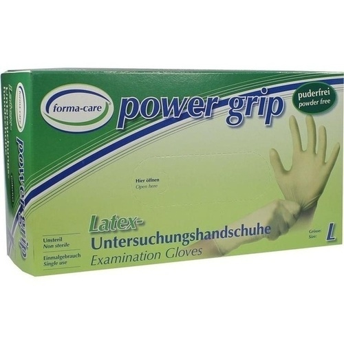 forma-care latex power grip large, 100 ST, Unizell Medicare GmbH