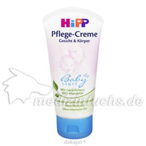 Hipp 9620 Babysanft Pflege-Creme, 75 ML, Hipp GmbH & Co.Vertrieb KG