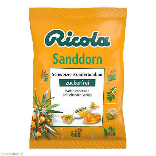 Ricola oZ Sanddorn Bonbons, 75 G, Queisser Pharma GmbH & Co. KG