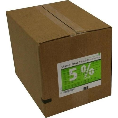 GLUCOSE 5% DELTAMEDICA PL, 10X500 ML, DELTAMEDICA GmbH