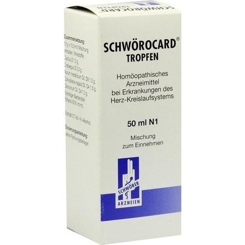 Schwörocard Tropfen, 50 ML, Pharma Schwörer GmbH