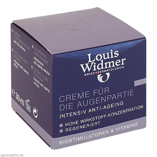 WIDMER CREME FÜR DIE AUGENPARTIE LEICHT PARF, 30 ML, Louis Widmer GmbH