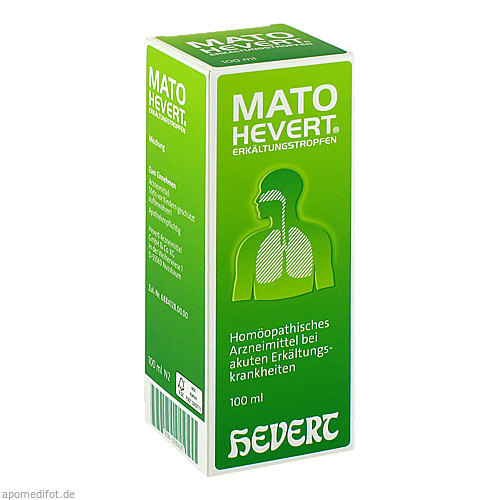 Mato Hevert Erkältungstropfen, 100 ML, Hevert Arzneimittel GmbH & Co. KG