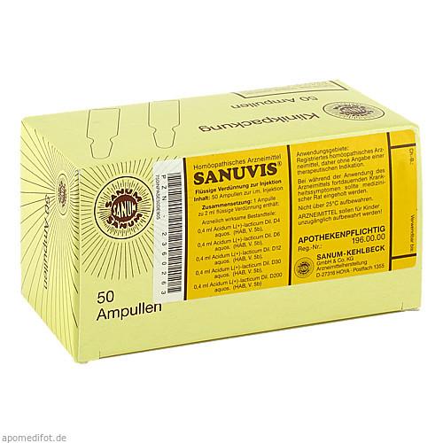 SANUVIS, 50X2 ML, Sanum-Kehlbeck GmbH & Co. KG
