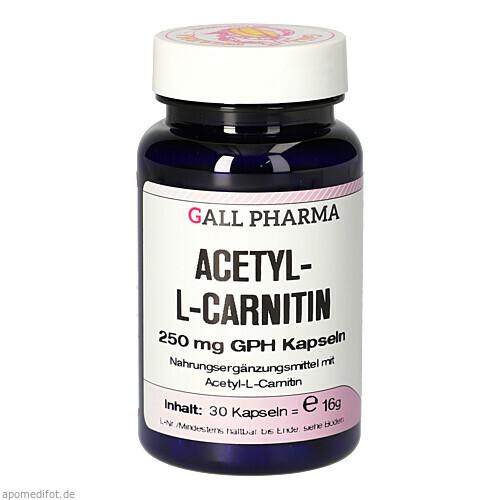 ACETYL-L-CARNITIN 250mg Kapseln, 30 ST, Hecht-Pharma GmbH