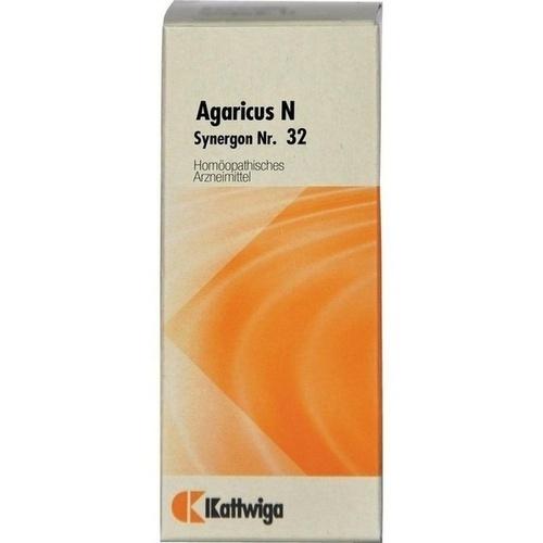 Synergon Kompl Agaricus N Nr. 32, 20 ML, Kattwiga Arzneimittel GmbH