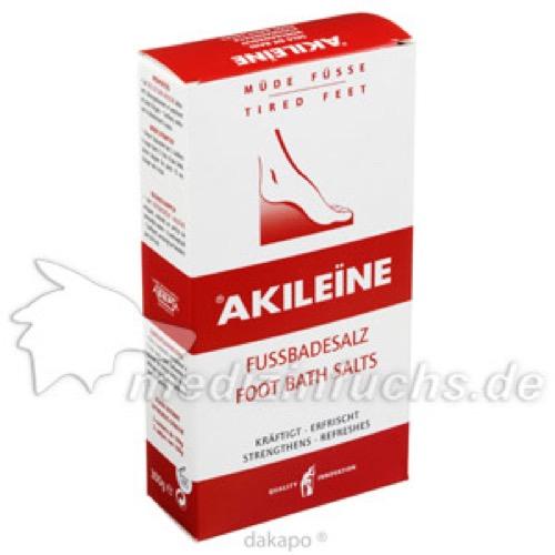 AKILEINE FUSSBADESALZ, 2X150 G, Labosept GmbH Cosmetica