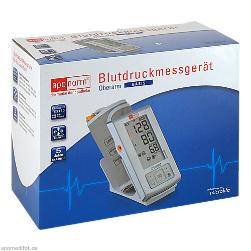 aponorm Blutdruckmessgeraet Basis Oberarm, 1 ST, Wepa Apothekenbedarf GmbH & Co. KG