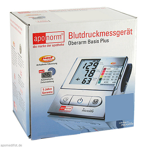 aponorm Blutdruckmessgeraet Basis Plus Oberarm, 1 ST, Wepa Apothekenbedarf GmbH & Co. KG