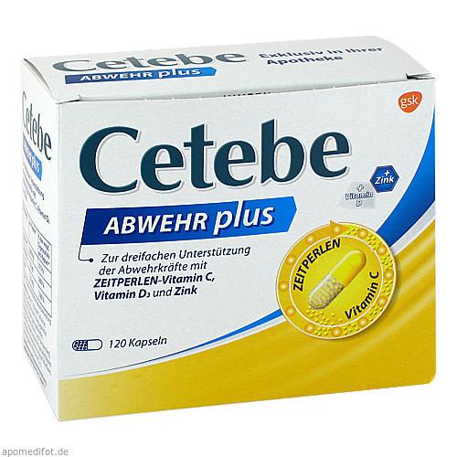 CETEBE Abwehr plus, 120 ST, GlaxoSmithKline Consumer Healthcare