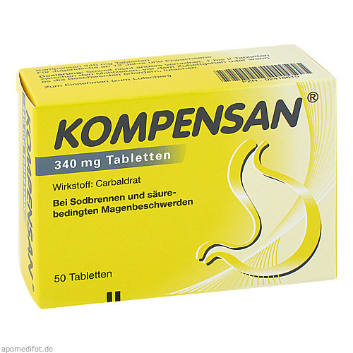 KOMPENSAN, 50 ST, Johnson&Johnson Gmbh-Chc