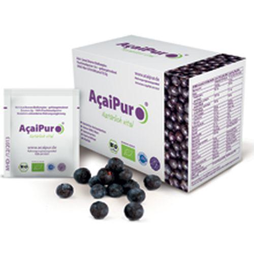 AcaiPur-Acai 18:1 Beeren BioKomplex gefriergetro., 30X2 G, Acaipur Venker & Weber KG