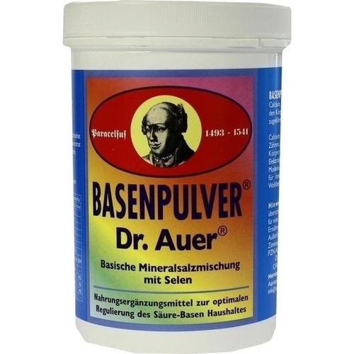BASENPULVER NACH DR.AUER, 450 G, Aapo-Spa Natürliche Heilmittel GmbH