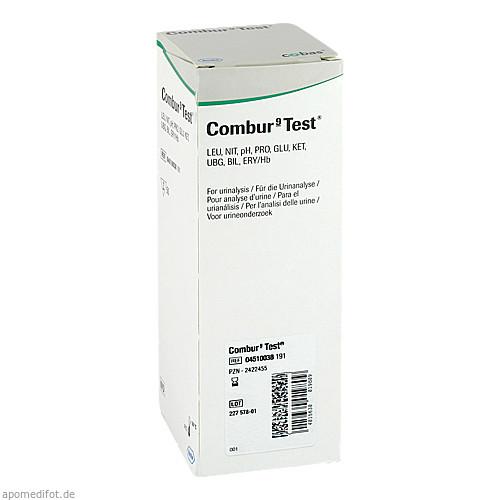 COMBUR 9 TEST, 1 P, Roche Diagnostics Deutschland GmbH