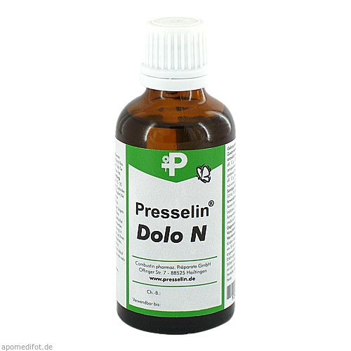 Presselin Dolo N, 50 ML, Combustin Pharmaz. Präparate GmbH