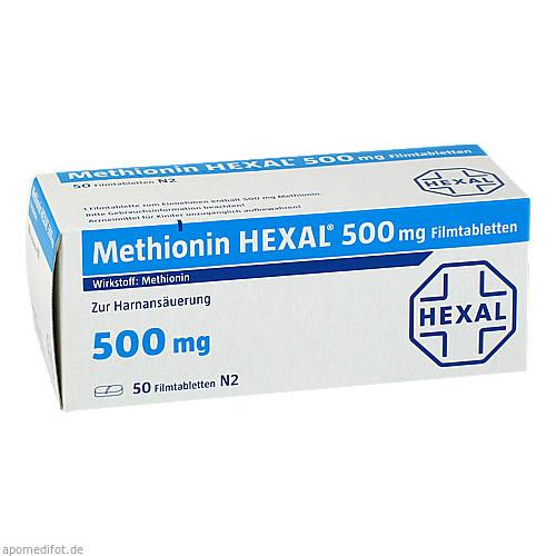 Methionin Hexal 500mg, 50 ST, HEXAL AG
