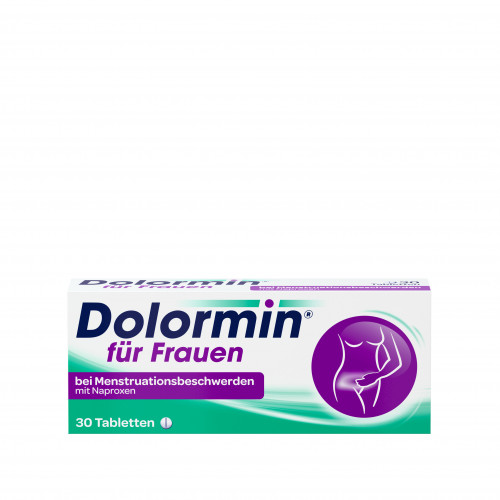 Dolormin f.Frauen bei Menstr.beschw. m. Naproxen, 30 ST, Johnson & Johnson GmbH