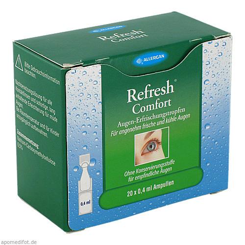 Refresh Comfort Augen-Erfrischungstropfen, 20X0.4 ML, ALLERGAN PHARMACEUTICALS INTERNATIONAL LIMITED