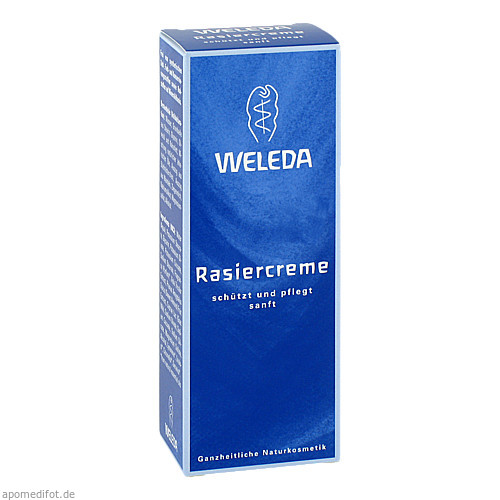 WELEDA Rasiercreme, 75 ML, WELEDA AG