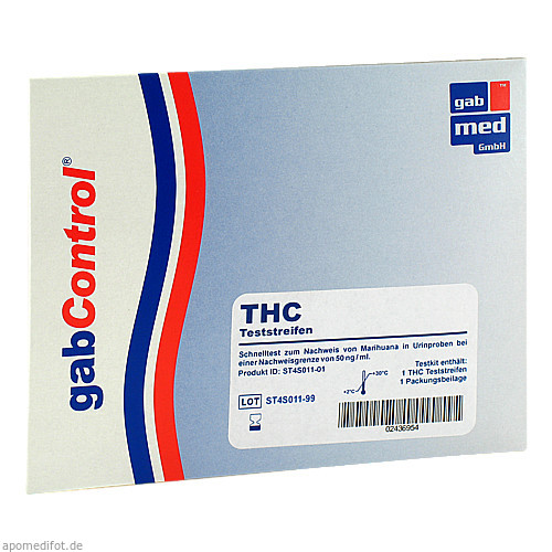 Drogentest THC, 1 ST, Gabmed GmbH