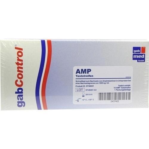 Drogentest Amphetamin, 10 ST, Gabmed GmbH