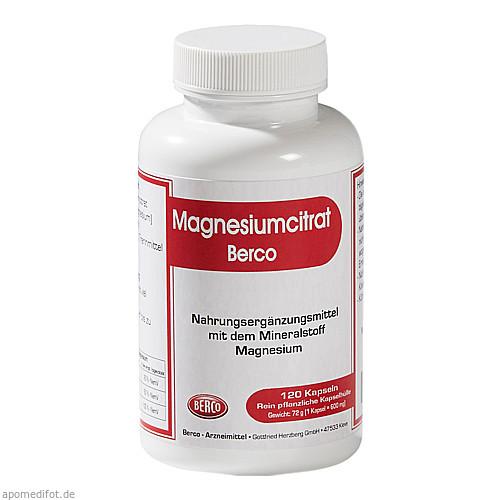 Magnesiumcitrat Berco, 120 ST, Berco-ARZNEIMITTEL