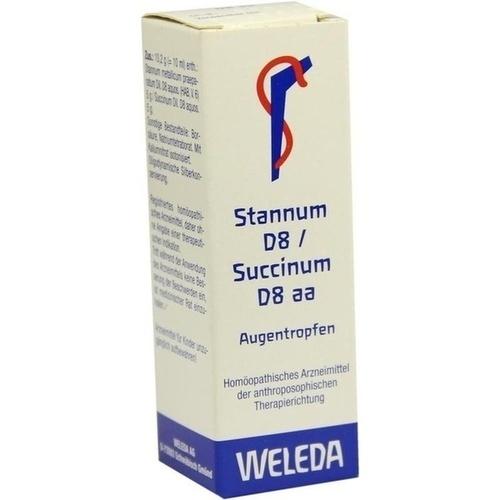 STANNUM D 8 SUCCINUM D 8 AA, 10 ML, Weleda AG