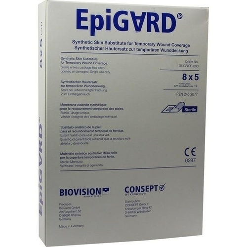 EPIGARD 8X5cm, 10 ST, Biovision GmbH