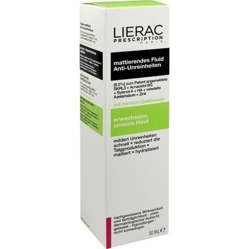 LIERAC Prescription mattierendes Fluid, 50 ML, Ales Groupe Cosmetic Deutschland GmbH