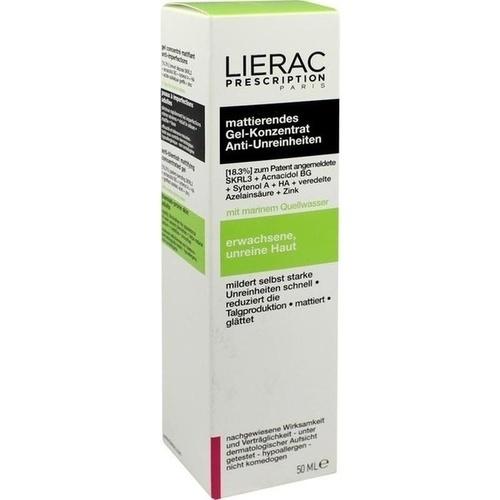 LIERAC PRESCRIPTION mattierendes Gel-Konzentrat, 50 ML, Ales Groupe Cosmetic Deutschland GmbH