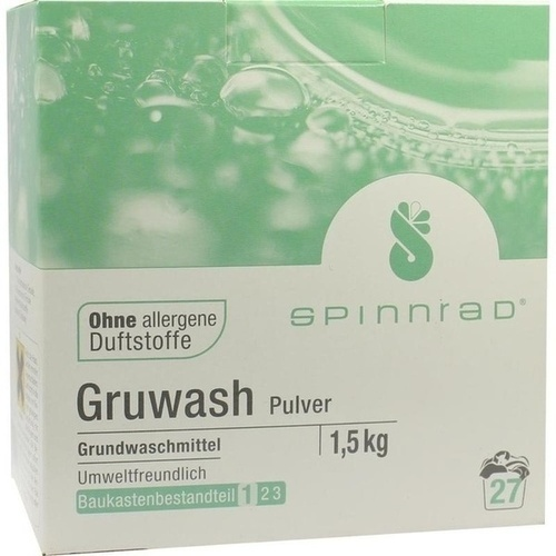 Gruwash, 1.5 KG, Spinnrad GmbH