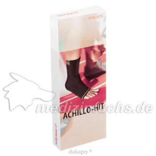 SPORLASTIC ACHILLO-HIT rechts schwarz 2, 1 ST, Sporlastic GmbH